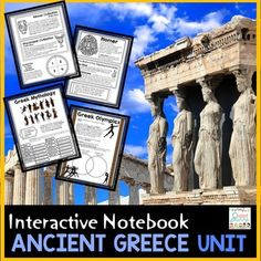 Greece Ancient Greece: Ancient Greece Unit for Interactive Social Studies Notebook!6th Grade Ancient Civilizations SeriesThis product contains interactive cut and paste learning material for students to create an organized social studies interactive notebook.Answer Key IncludedThis resource is designed for an Ancient Greece unit.