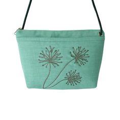 Linen Cross Body Bag