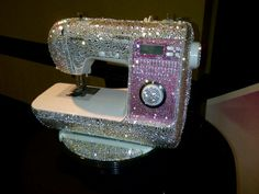 Bling, Sparkly,,,funny,, Here's your new Sewing Machine,Belinda,,,