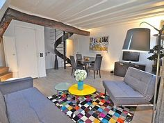 Clair de Lune - Beautiflul 2 bedroom duplex in the heart of ParisVacation Rental in 4th Arrondissement Pompidou Le Marais from @homeaway! #vacation #rental #travel #homeaway
