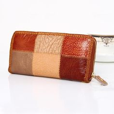 PU Vegan Leather Mini Coin Purse Wallet with Clasp Black ...