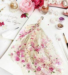 Buongiorno idee Wedding Flowers (Foto)  Chan Clayrene Singapore based Artist / Fashion Illustrator #wedding #illustration #bride #flowers #creativity #rose  #casamento #wedding #noiva #matrimonio #photographer #istanbul #evlilik #dugunfotografcisi  #fashionweek #blogger #blog #blomde #ombre #fashion #sombre #gelinlik  #stil #pigmentasyon #balyaj #bride #degisim http://gelinshop.com/ipost/1517292287821300831/?code=BUOgUv8B0Rf