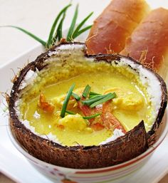 Prawn in Coconut Soup