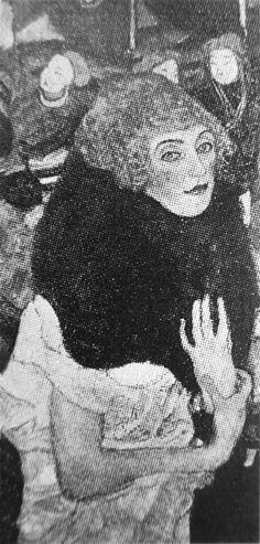 Gustav Klimt - Late Works / Der Pelzkragen 1916