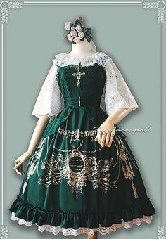 Surface Spell -Angelic Blessing- Lolita Jumper Dress