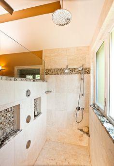 Glorious Doorless Walk In Shower