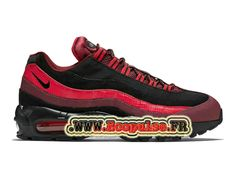 耐克Air Max 95基本男士耐克篮球便宜鞋黑色/红色749766-600