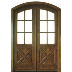 Dsa Doors Havasu E 17 Pre Hung 6 Lite Clear Beveled Gl Arch