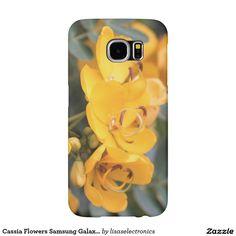 Cassia Flowers Samsung Galaxy S6 Case