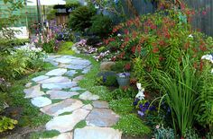 Незабудочки unpolished life: Easy going stone paths