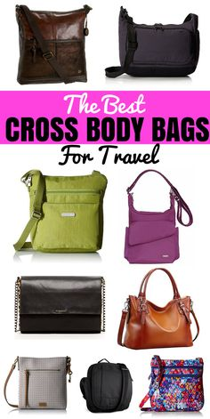 These are the ultimate best cross body bags. We've reviewed dozens of cross body purses, so you fine the right one for you. CLICK HERE TO FIND TO SEE THEM ALL.