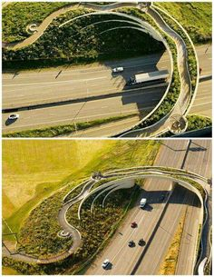 The Vancouver land bridge.  -The LA Team  www.landarchs.com
