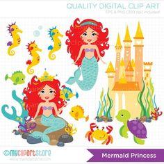 Clipart - Mermaid Princess