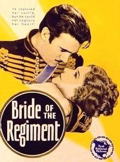 """Bride of the Regiment"" (1930) is an American musical film directed by John Francis Dillon filmed entirely in Technicolor. The film is notable as the first feature to include an outdoor sequence filmed at night, a difficult task due to the lighting that was necessary for Technicolor film at that time. No film elements are known to survive."