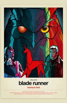 Stained Glass 80's Movie Posters - Blade Runner
