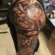 cool-half-sleeve-tattoo-ideas