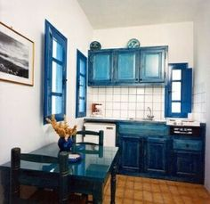Santorini kitchen