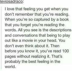 Once this happened in elementary school and when the class whent to lunch I got left and 5 min later my friend had to come back to get me because I didn't know they leftand was still reading