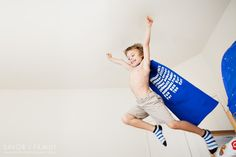 Cute super hero photo by Rachel Durik.