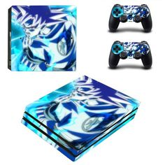 Dragon Ball Super PlayStation 4 pro skin decal for console and controllers