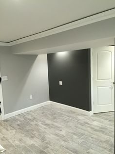 Kendall charcoal Benjamin Moore and stonington gray - amazing together.