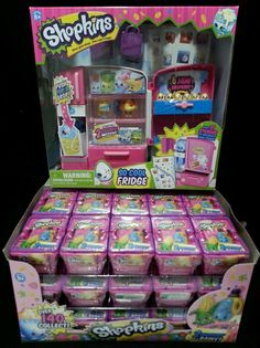 Shopkins So Cool Fridge with 30 Shopkins Blind Bag Baskets, FREE FAST SHIPPING in Other | eBay