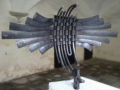 Plasma cut sculpture