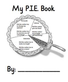 Author's purpose book with passages to read and a diagram to fill out to help decide the purpose.