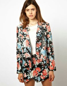 #summer #fashionblog #fashionblogger #shopping #floral #girl #fashion #trend #style #cool #flower #print  #trendestate2014 #giacche #coolhunting #blazer #nastygal  #trend estate 2014, idee dove trovare giacche, bomber parka floreali e fantasia - Floral print jackets and parkas for summer, nastygal, asos...