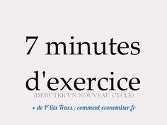 """Méthode """"7 Minute Workout"""" ou Comment Retrouvez la Forme en 7 Min d'Exercices. Lire la suite /ici :http://www.sport-nutrition2015.blogspot.com"""