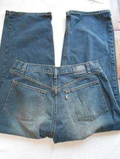 Levi's Mens Silvertab Short Length Baggy Size 36/29 EUC