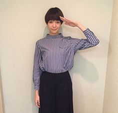 人気急上昇モデル佐藤栞里ちゃんのファッションに注目