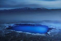 silicate rich blue pool Full HD