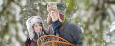 Winter romance at Spa Mirbeau with local winter activities.