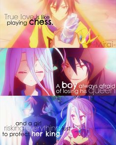 Anime:No game no life (c)owner Manga Girl, Manga Anime, Anime Art, Sad Anime Quotes, Manga Quotes, Fairytail, Grimgar, Game No Life, Chibi