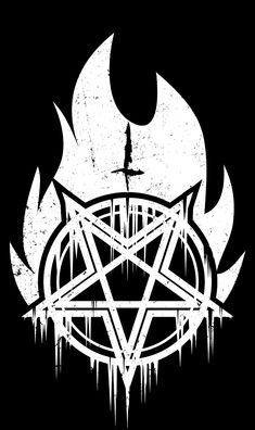 Black Art, Black Metal, Pentagram Tattoo, Satanic Art, Evil Art, Night Aesthetic, Beautiful Mask, Mobile Wallpaper, Occult