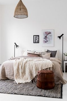 bedroom styling | @andwhatelse