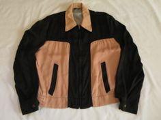 50'S BlackXPink ギャバジンジャケット 50s Rockabilly, Rockabilly Fashion, Rain Jacket, Windbreaker, Jackets, Style, Down Vest, Down Jackets, Swag