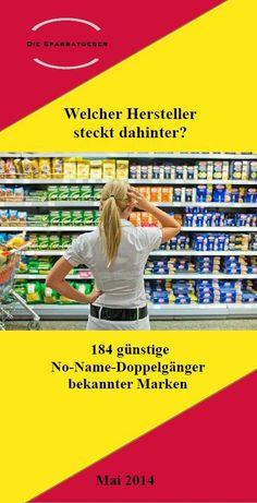 Welcher Hersteller steckt dahinter - 184 No Name Doppelgänger bekannter Marken