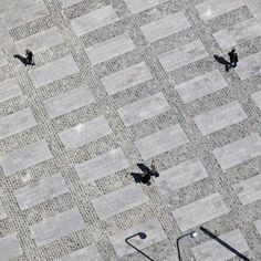 Paving pattern | Vartov Square | Copenhagen
