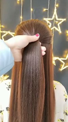 🌟Access all the Hairstyles: – Hairstyles for wedding guests – Beautiful hairstyles for school – Easy Hair Style for Long Hair – Party Hairstyles –. Easy Party Hairstyles, Hairstyles For School, Braided Hairstyles, Wedding Hairstyles, Hair Upstyles, Long Hair Video, Little Girl Hairstyles, Hair Videos, Hair Hacks