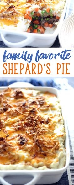 Our family loves Shepherds Pie. When I ask,