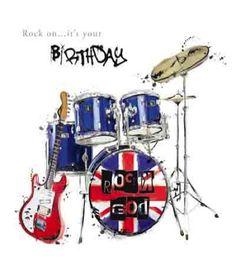 happy birthday drummer dude - Buscar con Google