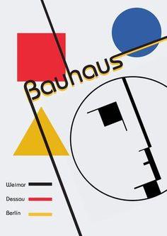 """Cover of """"Bauhaus book"""" Art Eras, Swipe File, Design Art, Graphic Design, Design Theory, Art And Technology, Advertising Poster, Berlin, Design Reference"""