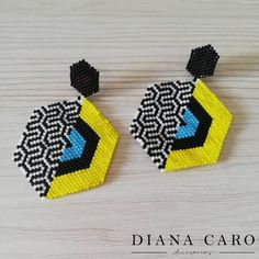 Posts tagged as Loom Bracelet Patterns, Beaded Earrings Patterns, Bead Loom Bracelets, Bracelet Crafts, Beading Patterns, Seed Bead Jewelry, Bead Jewellery, Seed Bead Earrings, Knitted Necklace