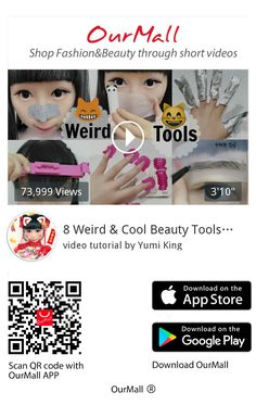 Yumi King, Cooperated Cheap Clothes Store:OurMall is a cheap online clothing shopping app where people can shop a lot of good quality and cheap items.OurMall is an interesting video shopping platform with many real reviews from fashion influencers. Homepage link: http://video.ourmall.com/I collected these beauty tools over time. These tools work on...,