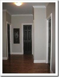 beautify your contemporary interior design with black interior doors