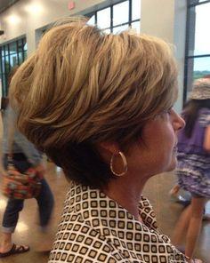 cool Dames die de 50 gepasseerd zijn opgelet! Voordat je naar de kapper gaat moet je echt even deze 11 schitterende kapsels bekijken!