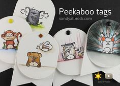 Peekaboo Gift Tags - MISTI Maynia Giveaway