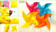 Szélforgó készítés - Manó kuckó Techno, Origami, Projects To Try, Table Lamp, Creative Things, Home Decor, Creative, Homemade Home Decor, Table Lamps